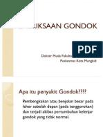 PEMERIKSAAN GONDOK