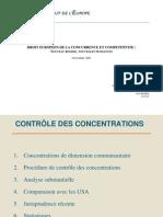 Droit européen de la concurrence et competitivite - HEC Institut de l'Europe - Nov. 2005