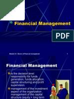 Basics of Financial Management'