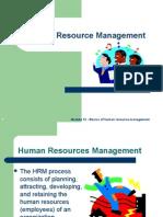 Basics of Human Resource Management
