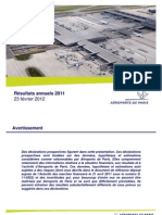 ADP - Resultats 2011 Presentation
