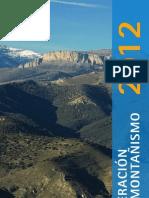 Federación Aragonesa Montañismo- Guía actividades 2012