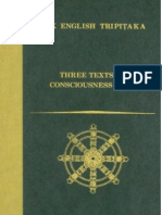 Three Texts on Consciousness Only Bdk English Tripitaka Translation Series