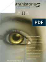 Contrahistorias, nº 11, septiembre 2008-febrero 2009