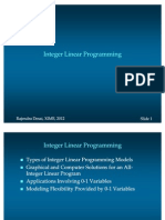 Integer Programming - 0702112