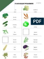 Unidad 5 vegetales