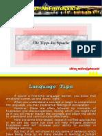 Die Tipps Der Sprache