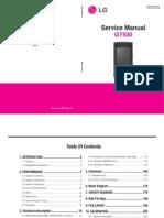 LG GT500 GT505 Service Manual