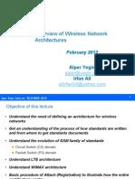 BLG609E Network Architecture+WiMAX Revised