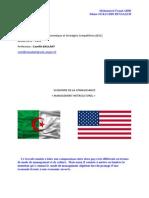 Management interculturel Algérie-Etats-Unis - Mohammed Fouad ABID, Siham OUKACHBI BENSALEM - M2 IESC - Université d'Angers