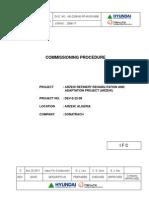 Contractor Commissioning Procedure