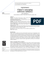 China'S_emerging Software Industry