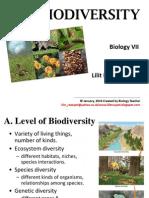 Biodiversity Biovii