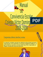Manual de Convivencia 2008