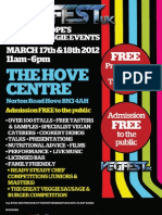 Brighton VegfestUK 2012 Programme