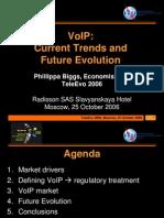 Biggs VoIP Trends Evolution 26 Oct 06