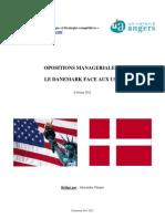 Spécificités managériales du Danemark - Alexandre Chupin - M2 IESC - Université d'Angers