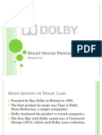 seminar on dolby sound processing