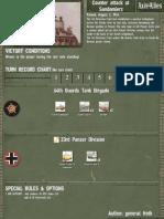 Counter Attack at Sandomierz (2/8/1944)
