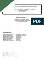 Les besoins éducatifs des enfants dysphasiques - Manuel pratique de dépistage de la dysphasie, d éva (ressource 1895)