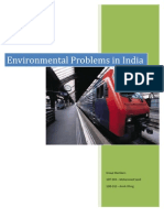 Env Problems in India