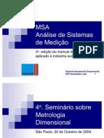 MSA 3ª Edição