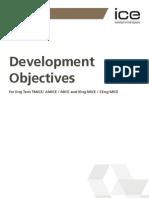 ICE 3005A Development Objectives