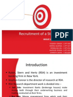 Recruitment of as Tar