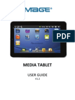 Panimage Media Tablet User Guide