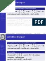 Algebra Linear - Autovalores e Auto Vet Ores
