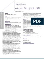 Legislative Fact Sheet