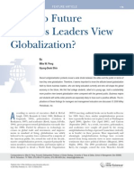 How Do Future Business Leaders View Globalization