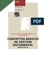 Conceptos Basicos de Gestion Documental MILA