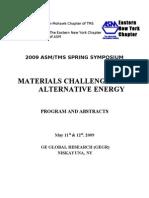 Symposium 2009 Book