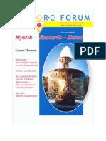 A.M.O.R.C. - Rosenkreuzer - Zeitschrift für Mystik-Esoterik- Kunst - 10