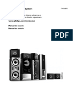 Philips FWD876 Manual de Usuario - Español