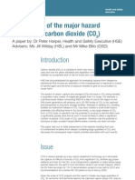Major Hazard Potential Carbon Dioxide