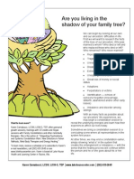 Are you living in the shadow of your family tree?