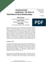 33_entreneruerial Internationalism_the Role of Distributor