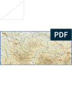 Mapa IX Travesera Integral de Picos de Europa2012