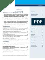 Global Economics Weekly Cautious Improvement