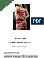 Haddock Nancy - Najstarszy wampir w mieście 01 - Szalone życie wampira