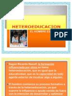 HETEROEDUCACION.AUTOEDUCACION