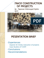 PPT Fast Track Construction of Projects