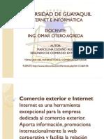 Uso de Internet en El Comercio Exterior