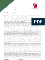 110614 Markets Politics and the Euro NV