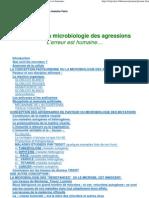 Pasteur Et La Microbiologie Des Agressions l'Erreur Est Huma..