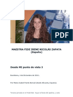 BALI 2011 - MAESTRA FIDE IRENE NICOLÁS ZAPATA