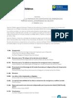 Protección de la Infancia en Contextos de Emergencias - Máster NOHA - U. Deusto -27/2/12