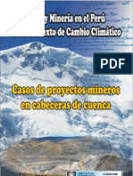 Agua y Minería en el Perú en un contexto de Cambio Climático